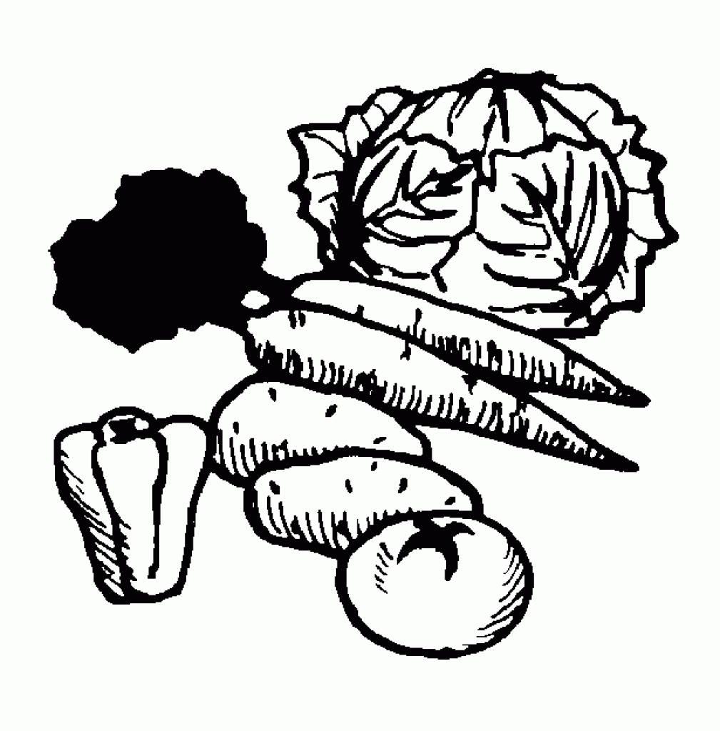 Eating fruits and vegetables clipart black and white clip art transparent download Vegetables black and white vegetables black and white clipart ... clip art transparent download