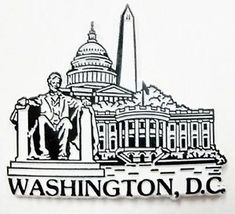 Washington monuments clipart vector free stock 11 Best Washington DC Clipart images in 2018 | Washington dc ... vector free stock