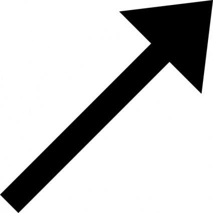 Small . Clipart black arrow