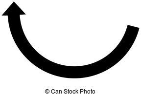 Illustrations and stock art. Clipart black arrow