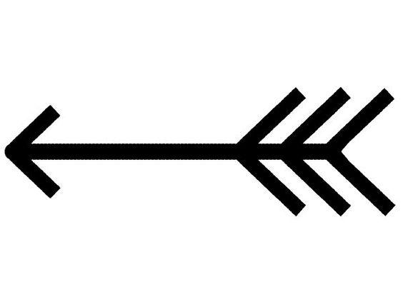 Clipart black arrow. Fancy and white clipartfest