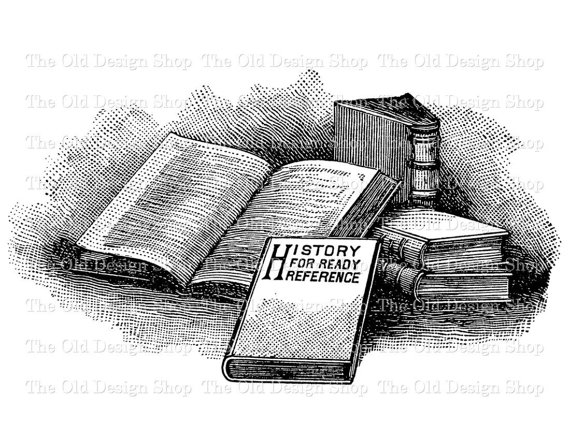Clipart black boxes stacked clipart black and white stock Vintage Book Clip Art Stack of Books by TheOldDesignShop on Etsy ... clipart black and white stock