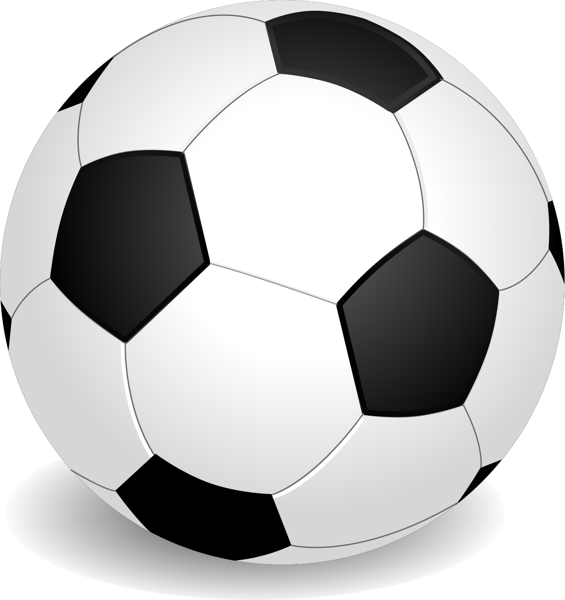 Clipart - Football (Soccer Ball) picture