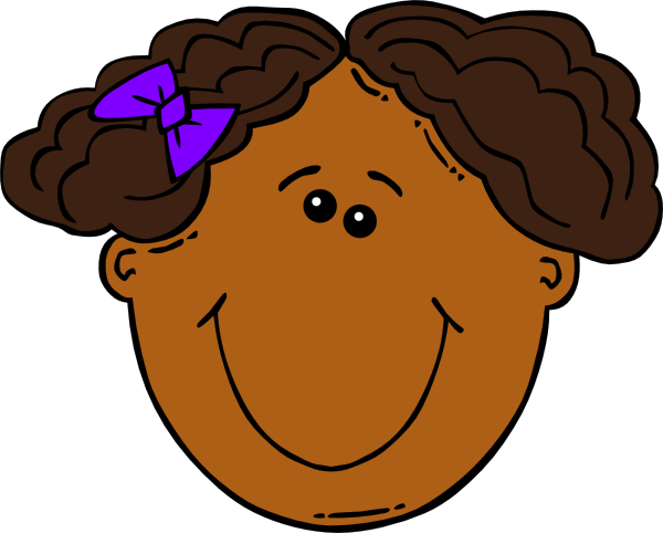 Face clipart girl banner transparent stock Black girl clip art clipart images gallery for free download ... banner transparent stock