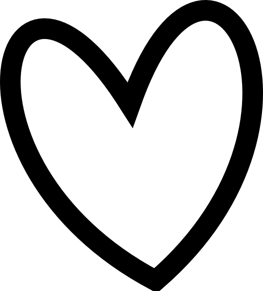 Clipart black heart graphic transparent download Image result for clipart heart | Cookie Cutter Ideas | Pinterest ... graphic transparent download