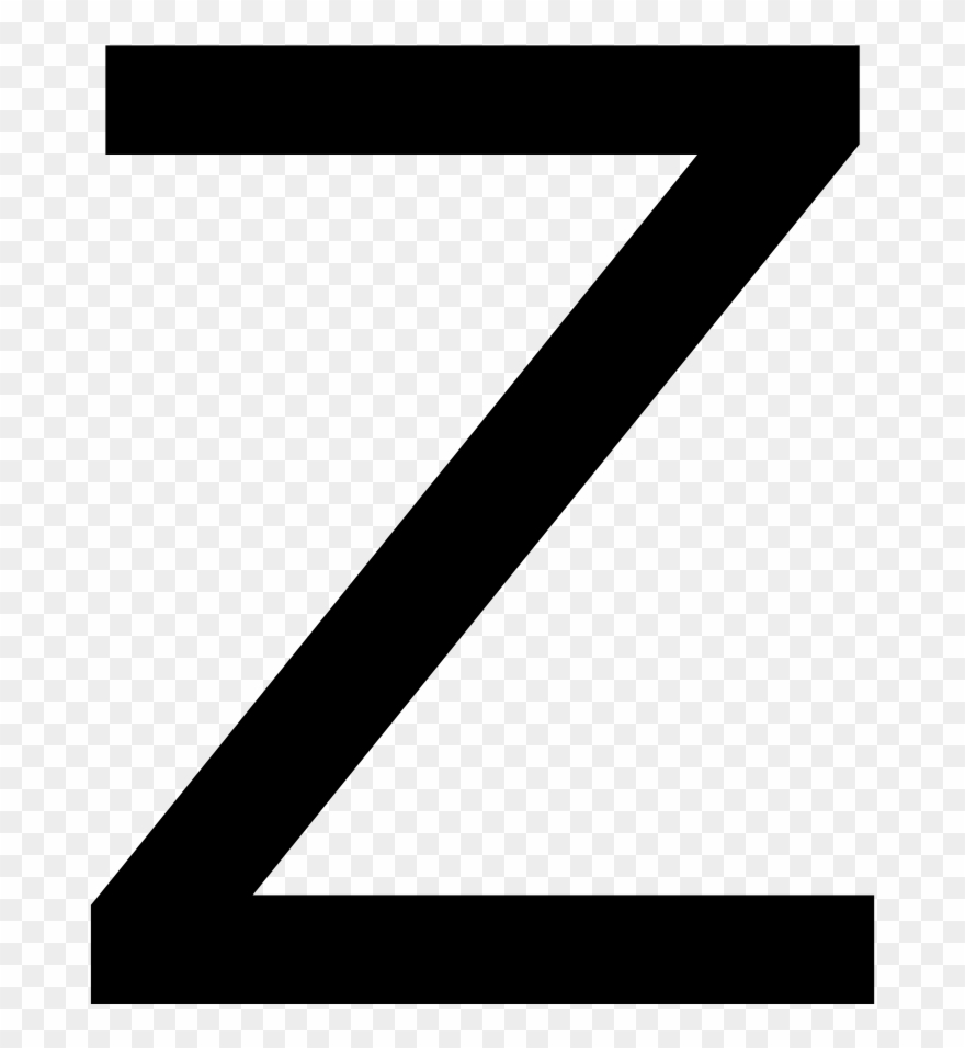 Letter z clipart clip art black and white library Clip Art Wiktionary - Letter Z - Png Download (#2177433) - PinClipart clip art black and white library
