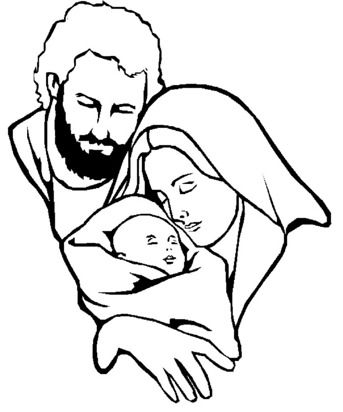 Clipart black mary joseph and jesus photo png royalty free library Clipart black mary joseph and jesus photo - ClipartFest png royalty free library