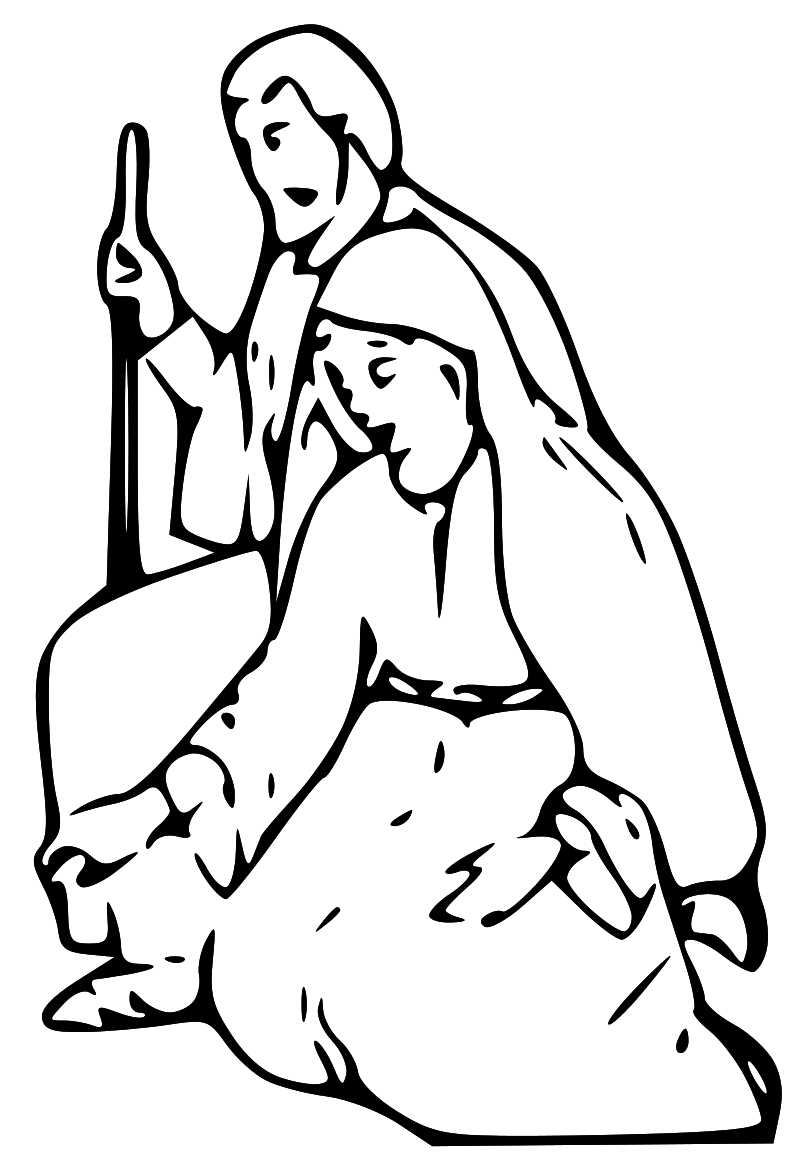 Clipart black mary joseph and jesus photo clip art free stock 17 Best images about Nativity on Pinterest | Christmas decorations ... clip art free stock