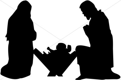 Clipart black mary joseph and jesus photo picture library library 17 Best images about Nativity on Pinterest | Christmas decorations ... picture library library