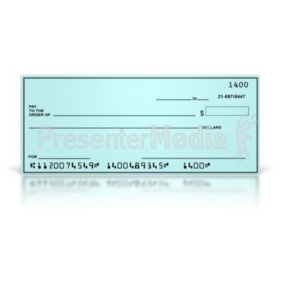 Clipart blank bank check svg freeuse Money Matters PresenterMedia Blog svg freeuse