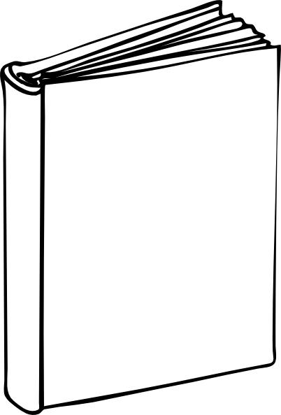 Clipart blank book library Blank book clipart 1 » Clipart Portal library