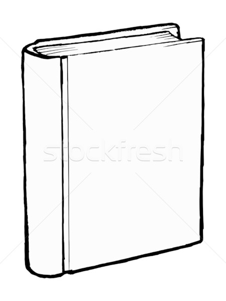 Clipart blank book cover