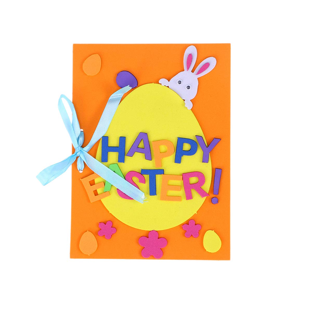 Clipart blessings and invitations png download Easter Theme Greeting Cards Making Kit Cute Cartoon Invitation Card ... png download