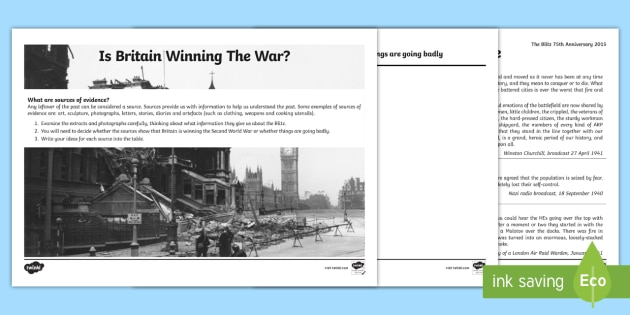 Clipart blitz powerpoint graphic stock The Blitz Using Evidence - the blitz, using, evidence, world war two graphic stock