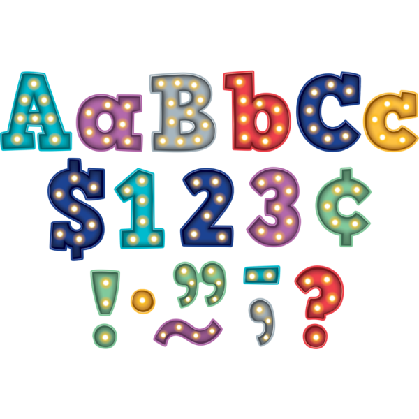 Clipart block letters banner library library 4