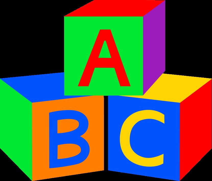 clipart block letters #13