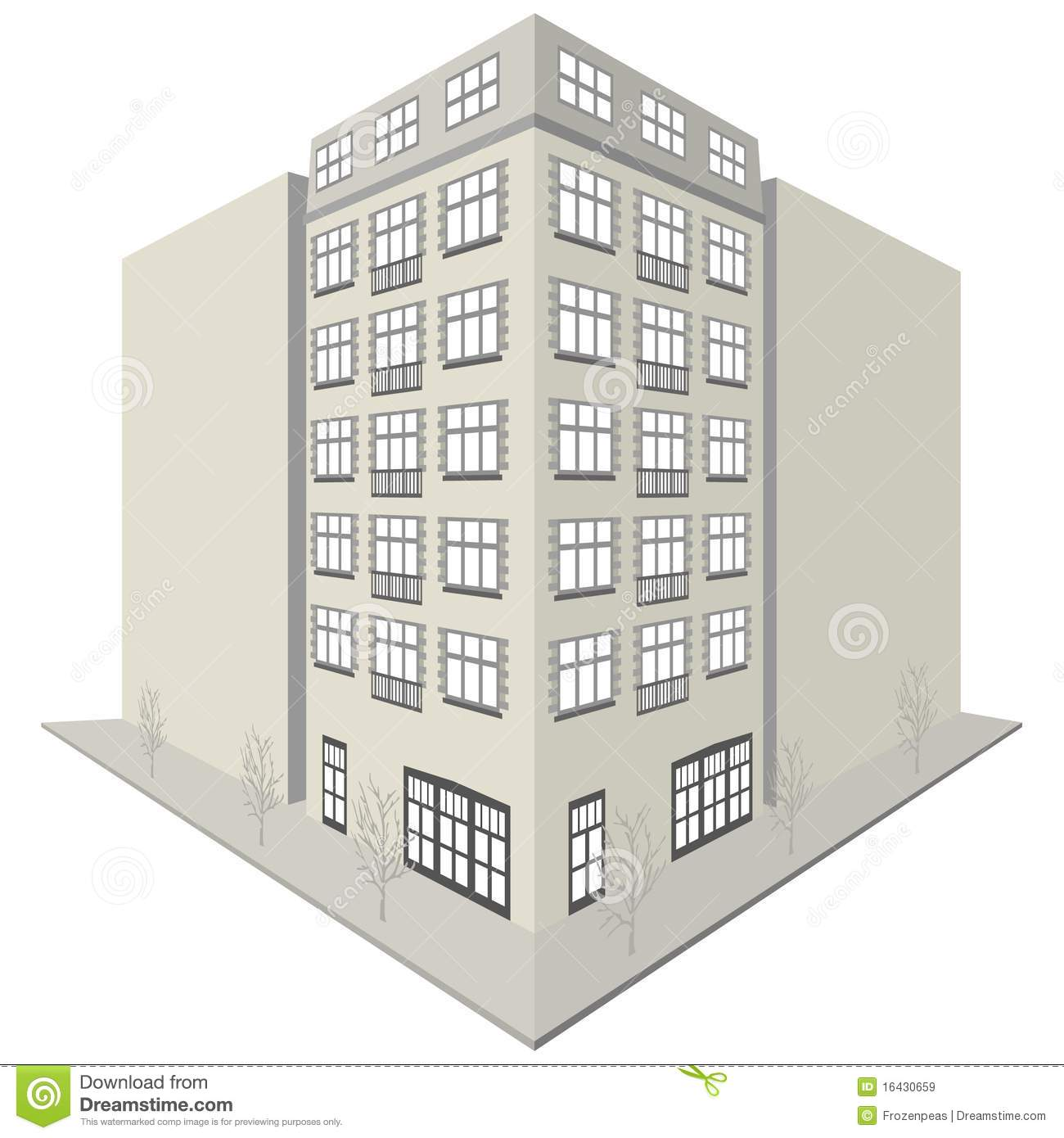 Clipart block of flats image free download Apartment Block Design Royalty Free Stock Images - Image: 16430659 image free download