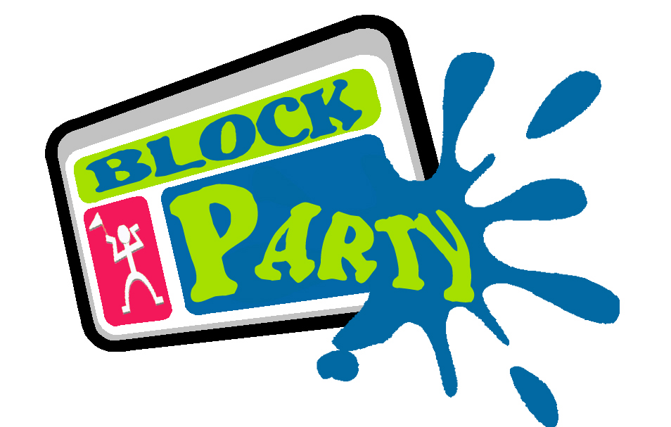 Clipart block party vector royalty free download Neighborhood party clipart - ClipartFest vector royalty free download