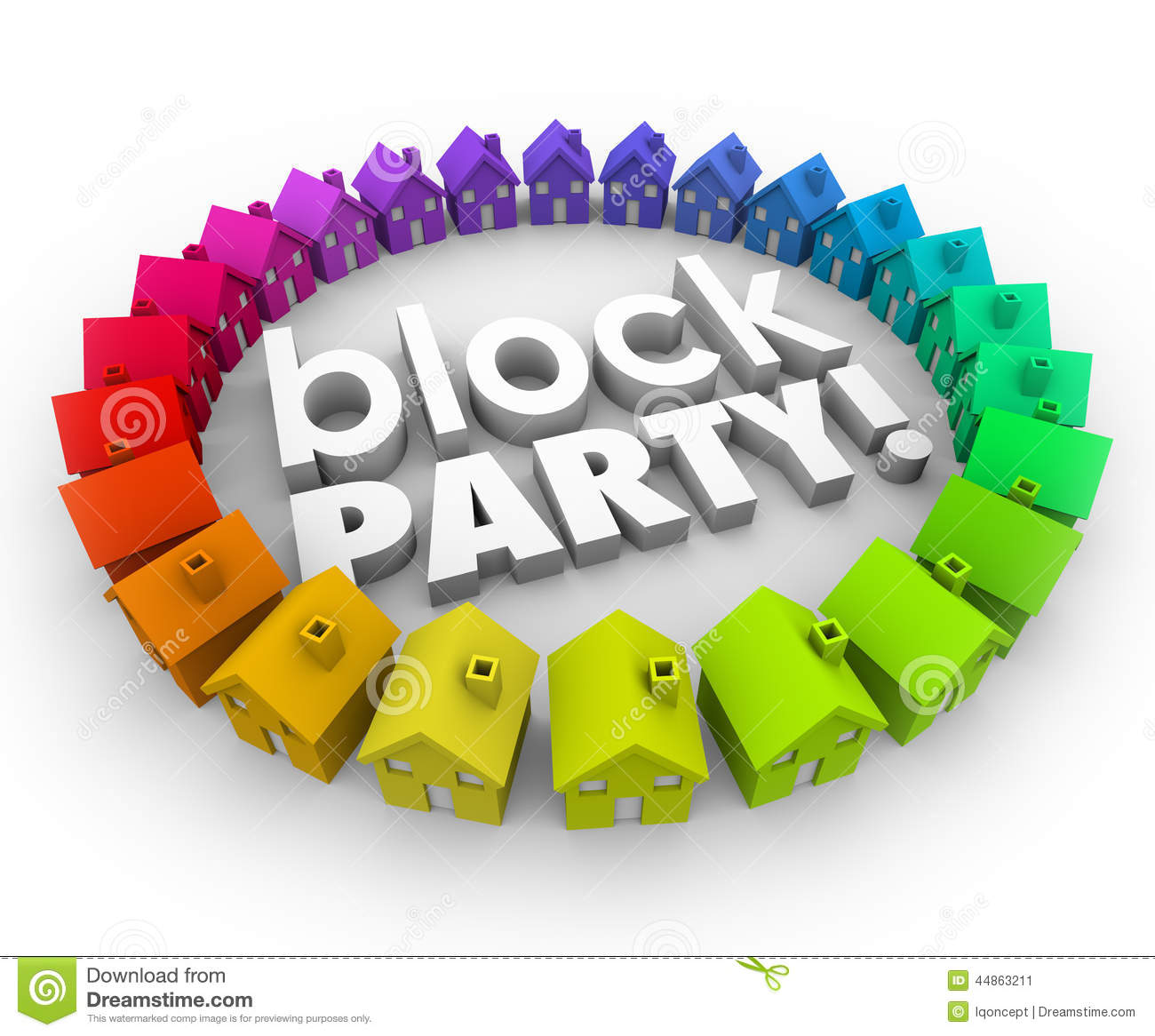 Clipart block party png library stock Block Party People Clipart - Clipart Kid png library stock