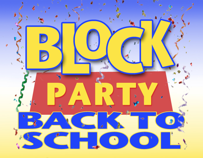Clipart block party picture royalty free stock Back to school block party clipart - ClipartFest picture royalty free stock