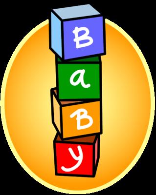 Clipart blocks. Baby clipartfest