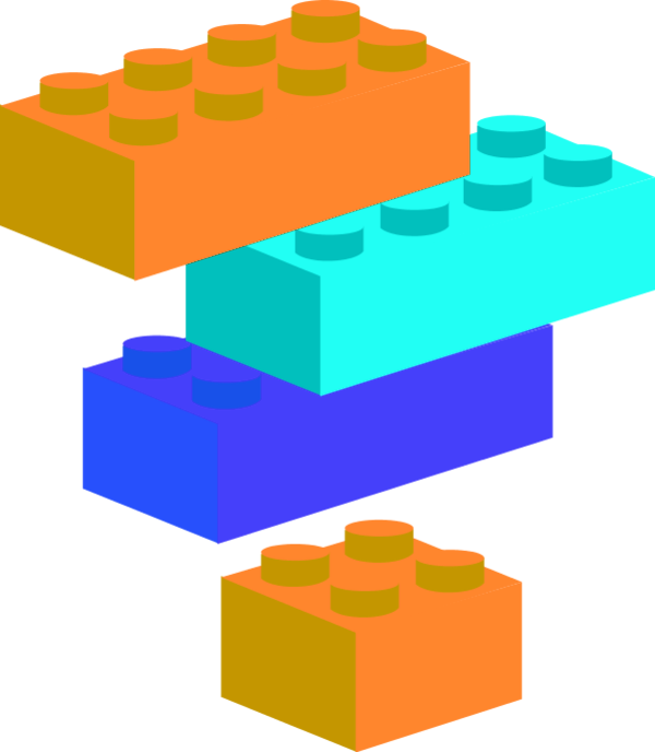 There is lego block. Clipart blocks