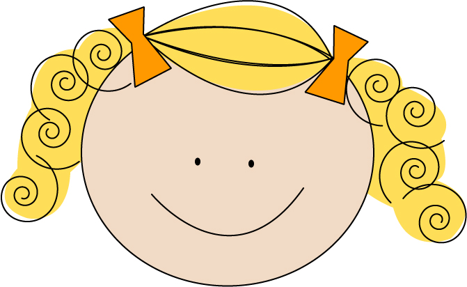 Clipart blond hair girl clip freeuse stock Free Blonde Haired Cliparts, Download Free Clip Art, Free Clip Art ... clip freeuse stock