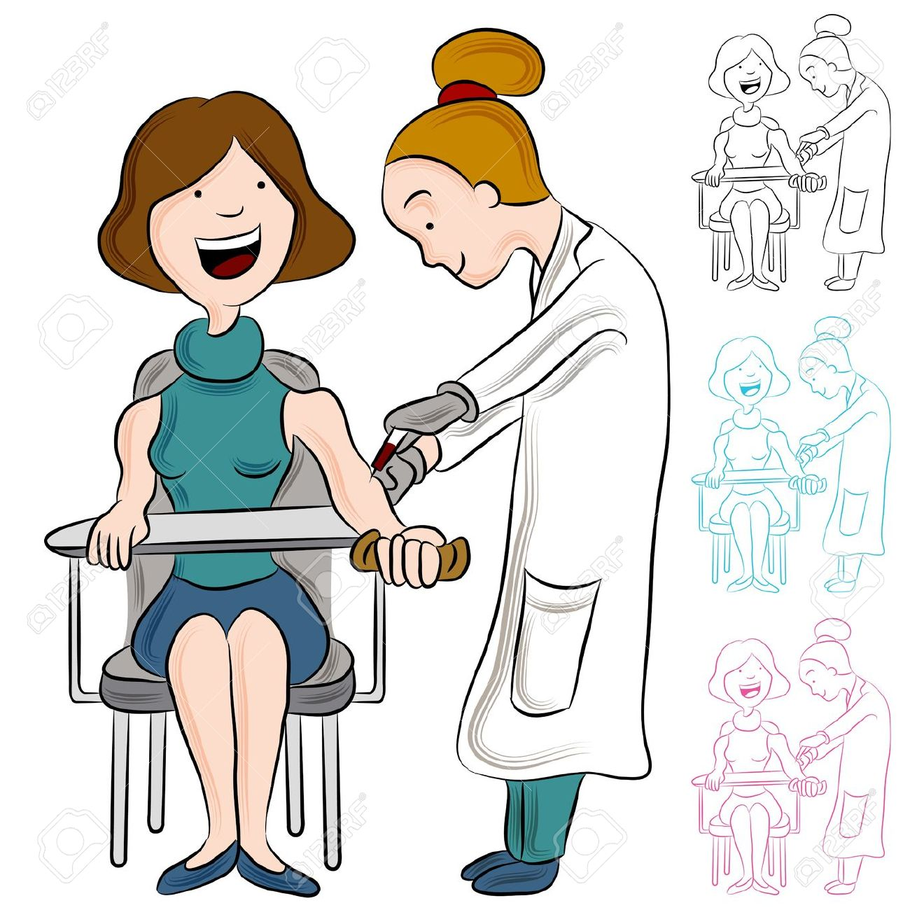 Clipart blood work. Clipartfest woman taking a