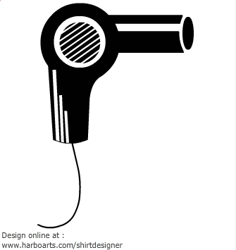 Clipart blow dryer svg royalty free download Free Blow Dryer Cliparts, Download Free Clip Art, Free Clip Art on ... svg royalty free download