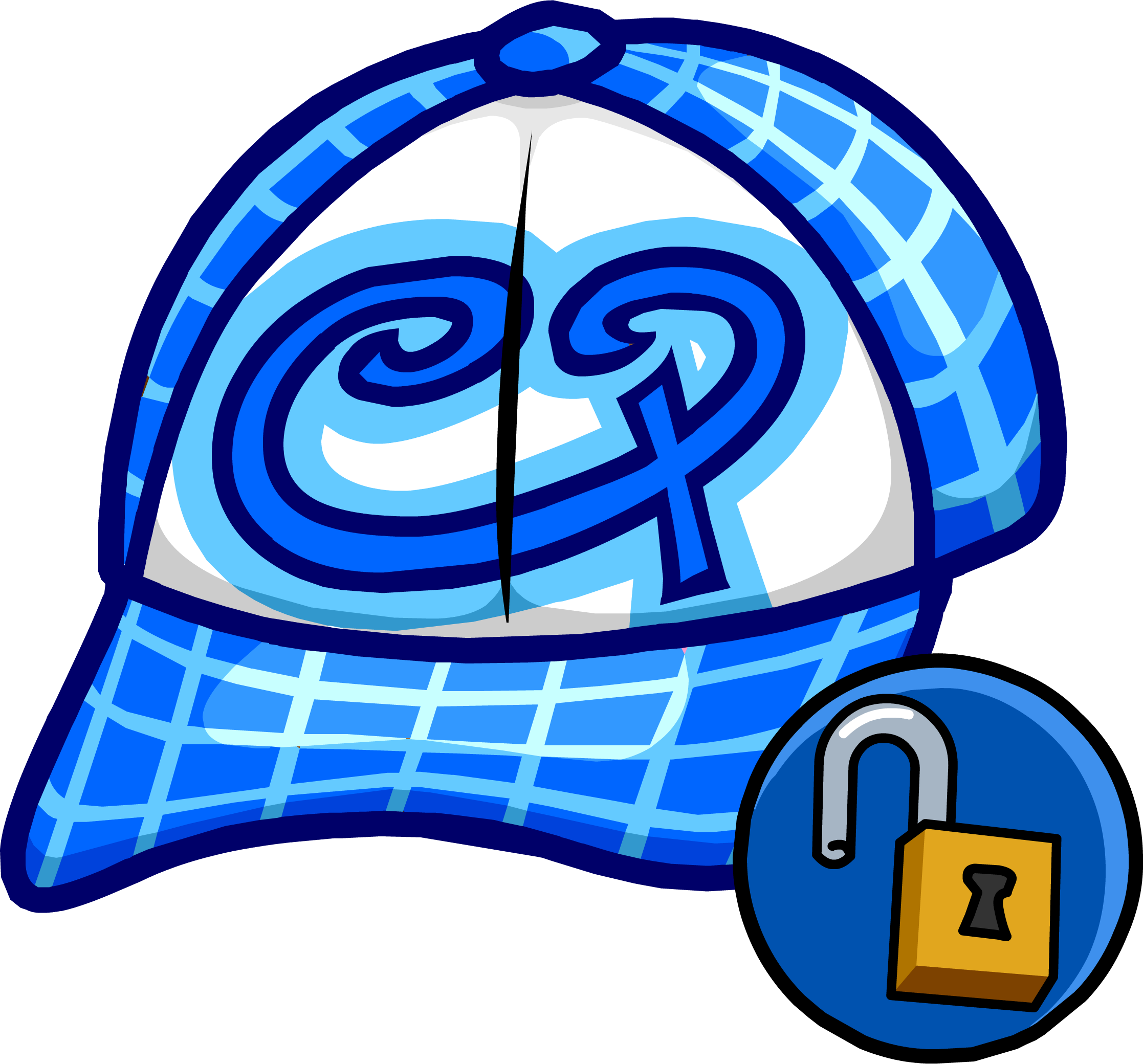 Clipart blue baseball cap backwards png free stock Blue Skater Hat   Club Penguin Wiki   FANDOM powered by Wikia png free stock