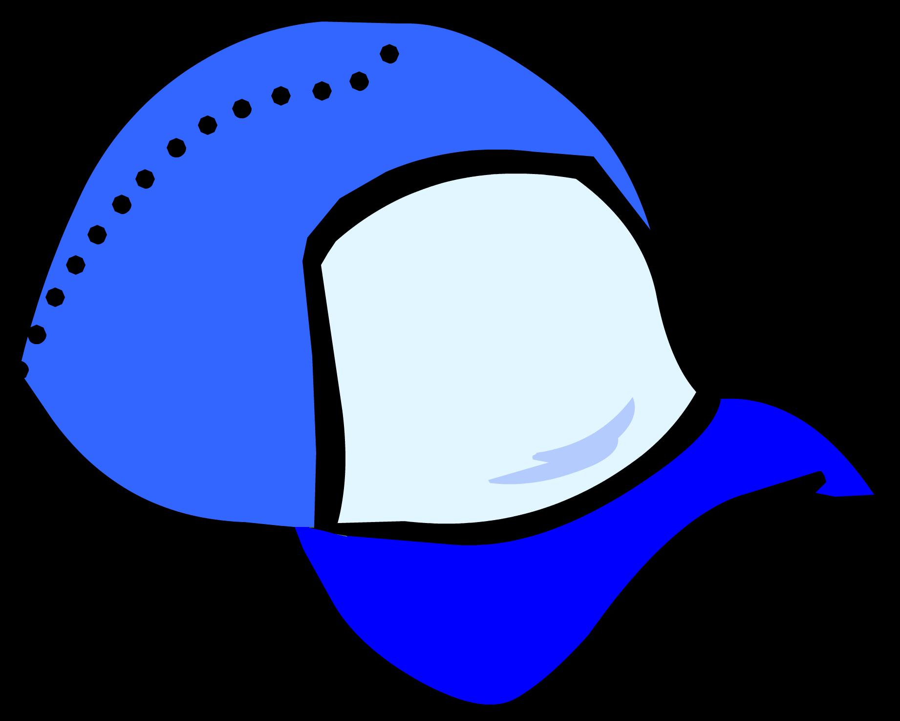 Clipart blue baseball cap backwards royalty free Blue Ball Cap   Club Penguin Wiki   FANDOM powered by Wikia royalty free