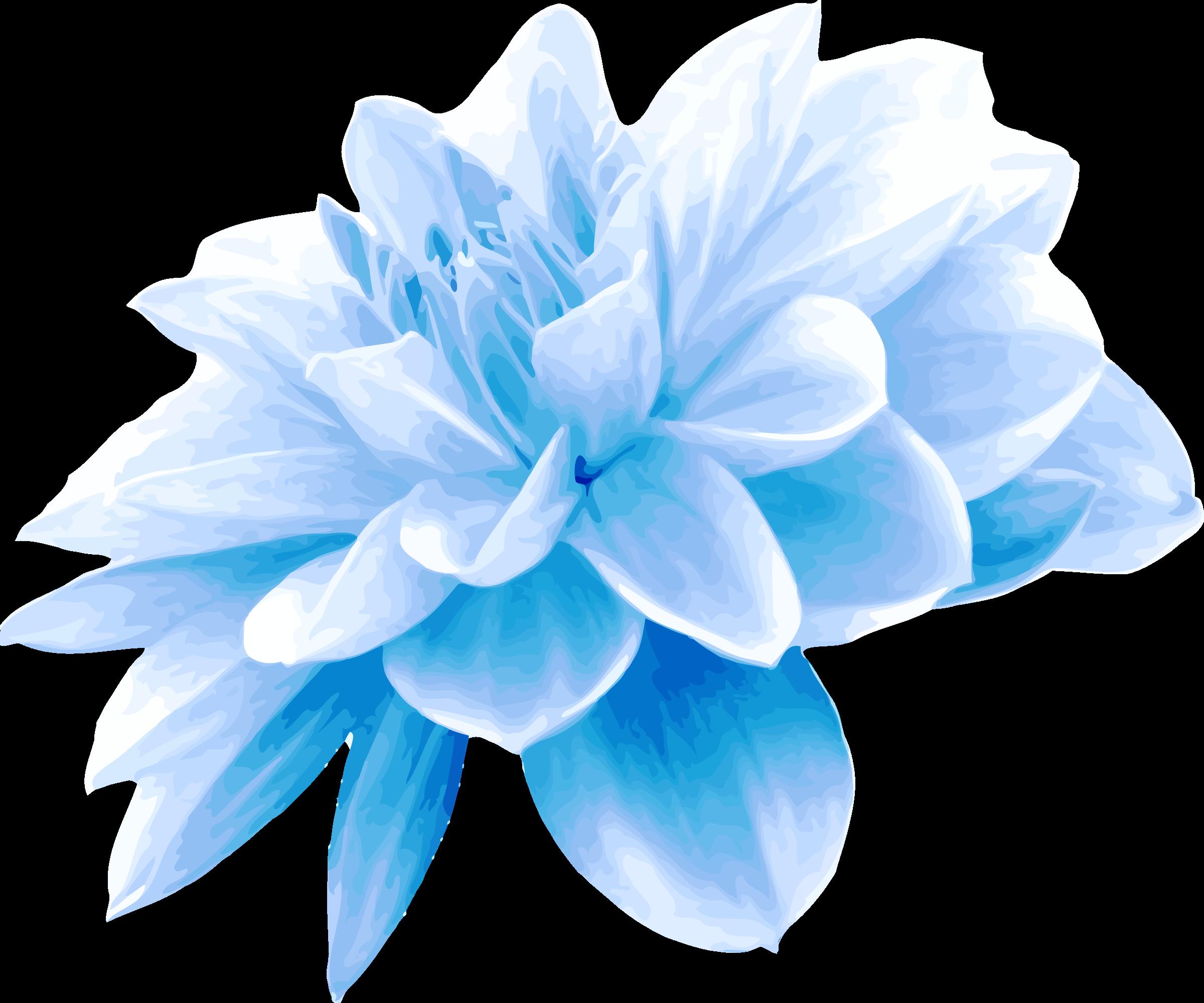 Clipart flower blue svg freeuse download Clipart - Blue flower svg freeuse download