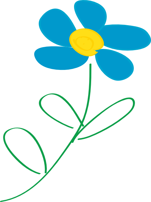 Whimsical heart clipart clipart black and white stock Whimsical Blue Flower Clipart | i2Clipart - Royalty Free Public ... clipart black and white stock