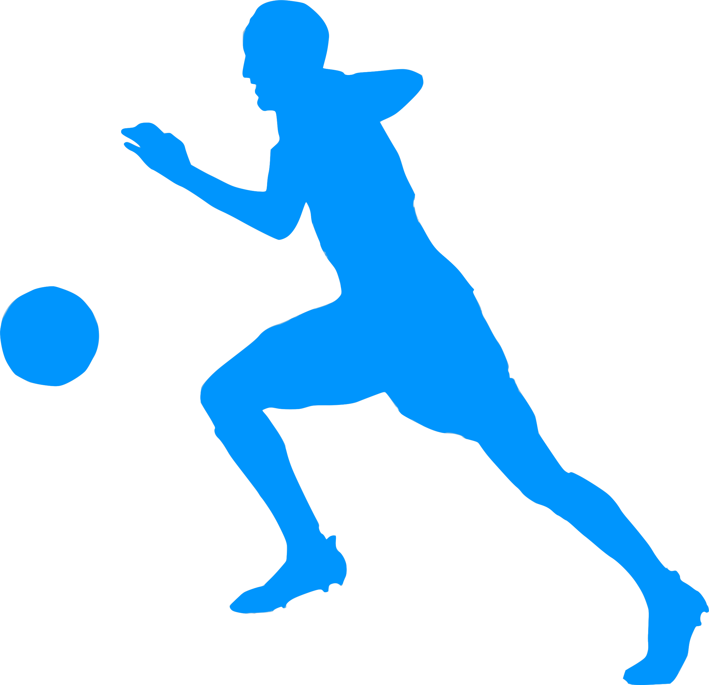 Football silhouette clipart clip art library download Silhouette Football 03 Icons PNG - Free PNG and Icons Downloads clip art library download
