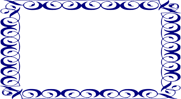 Clipart blue frame graphic transparent stock Blue Frame Clip Art | Clipart Panda - Free Clipart Images graphic transparent stock