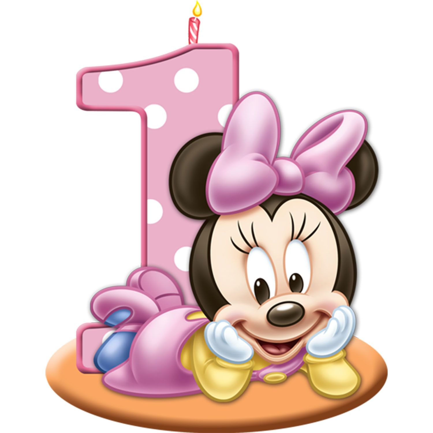 Clipart blue kid socks with minnie mouse png free download Minnie Mouse First Birthday Cake - Printable Coloring Pages and ... png free download