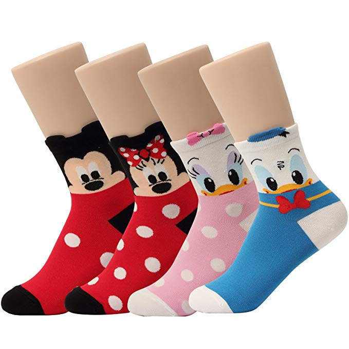 Clipart blue kid socks with minnie mouse jpg free library Disney Pixar Licensed Girls Socks Crew Ankle No Show Boy(Toddler,Little  Kid,Big Kids) jpg free library
