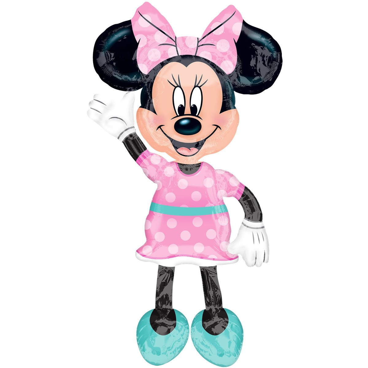 Clipart blue kid socks with minnie mouse png royalty free download Minnie Mouse Air Walker Balloon - Pink png royalty free download