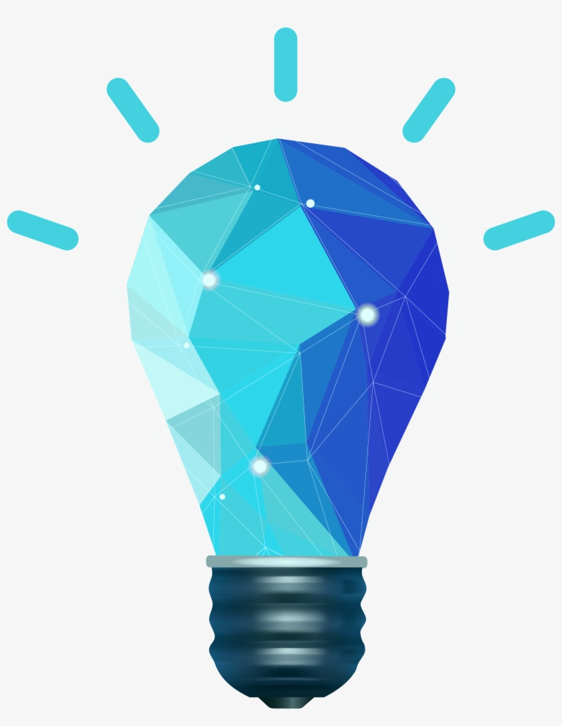 Clipart blue light vector free library Light Bulb Clipart Png Image - Blue Light Bulb Transparent - Free ... vector free library