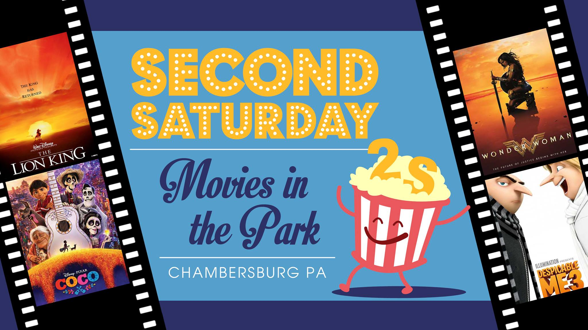 Clipart blue movies 2018 picture freeuse stock CHAMBERSBURG: Downtown Chambersburg Inc. Presents – Second Saturday ... picture freeuse stock