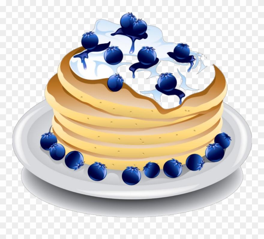 Clipart blueberrypancakes download Transparent Pancakes Blueberry - Blueberry Pancake Clipart - Png ... download