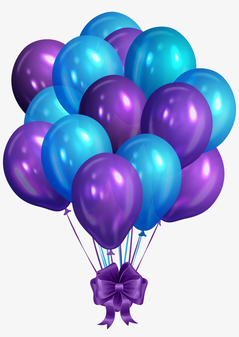Clipart bluebunch jpg royalty free download Blue Bunch Of Balloons Clip Art Png - Red And Blue Balloons Png PNG ... jpg royalty free download