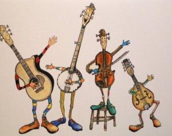 Clipart bluegrass png free stock Bluegrass music clipart 2 » Clipart Portal png free stock