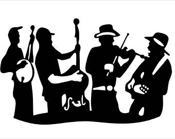 Bluegrass clipart free black and white Bluegrass Clipart (96+ images in Collection) Page 2 black and white