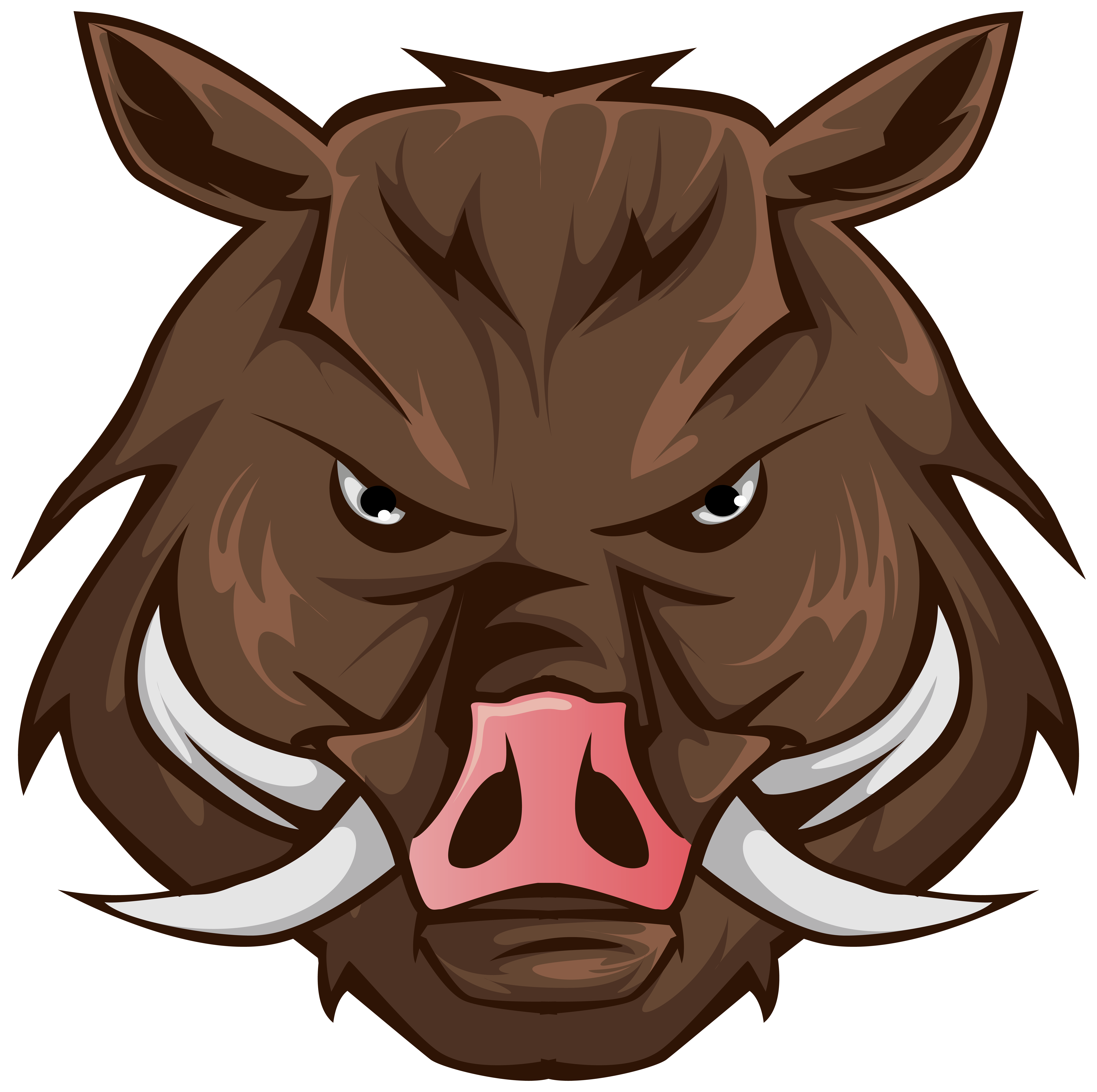 Clipart boar jpg library library Boar Head PNG Clipart Image | Gallery Yopriceville - High-Quality ... jpg library library
