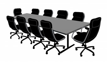 Clipart conference room vector black and white library Free Board Room Cliparts, Download Free Clip Art, Free Clip Art on ... vector black and white library