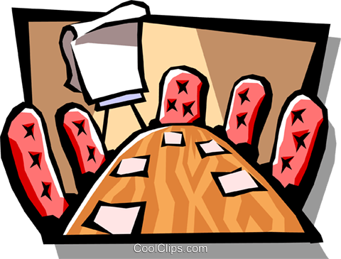 Clipart board room image free stock boardroom Royalty Free Vector Clip Art illustration -busi1007 ... image free stock