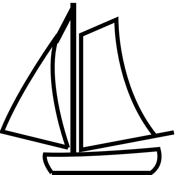 Clipart boat black and white jpg stock Boat black and white boat clipart black and white free images 4 ... jpg stock