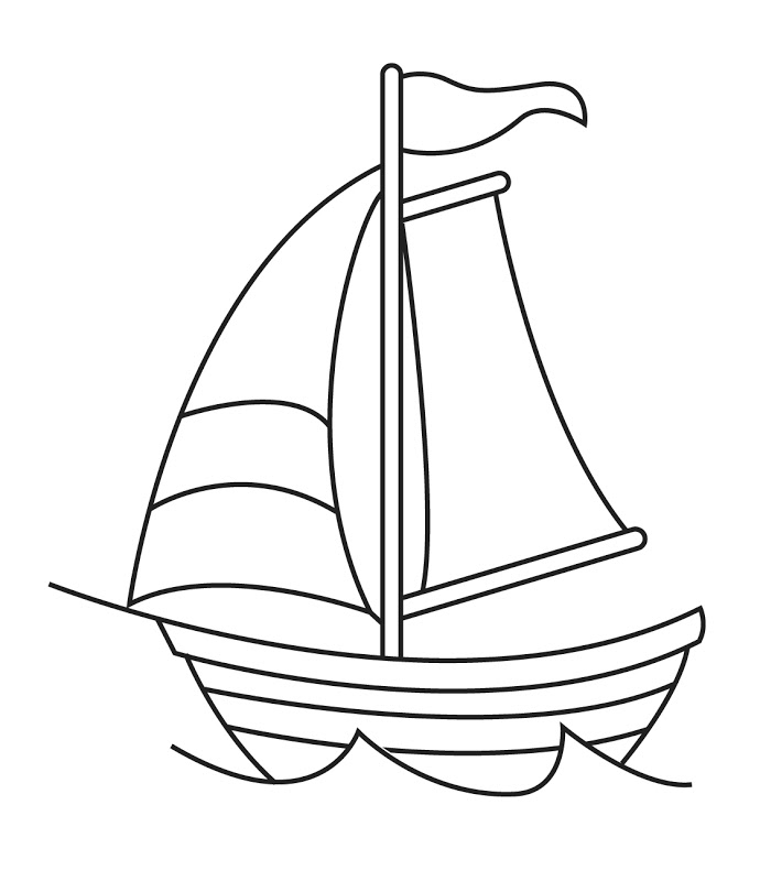 Clipart boat black and white royalty free Boat clipart black and white 3 » Clipart Station royalty free