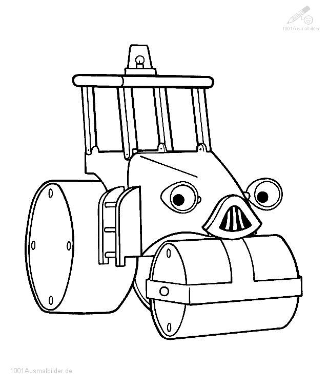 Clipart bob der baumeister image royalty free library Bob Th Builder - AZ Coloring Pages image royalty free library